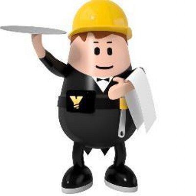 Expert poppetje in de bouw.