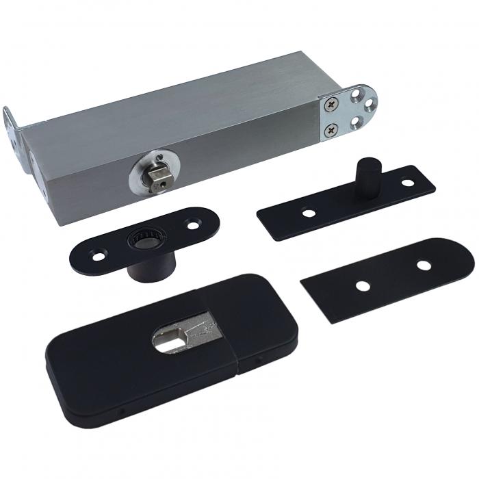 ODB-taatsscharnier-stalen-deuren-tot100kg-zwart-met-vaste-bovenspeun-groot