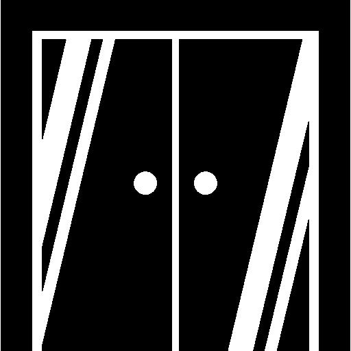 gesloten taatsdeur